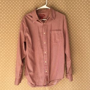 Men's casual button down Chaps shirt medium